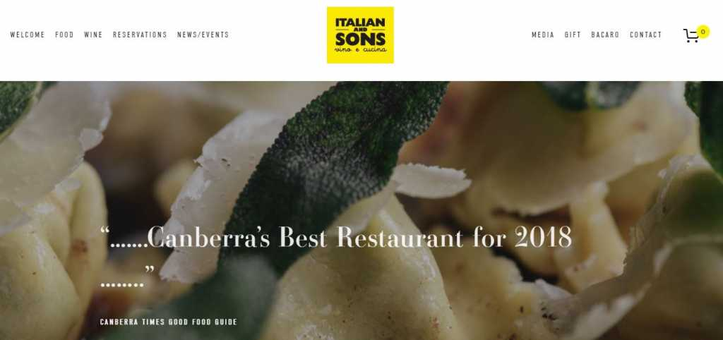 Best Italian Restaurants in Canberra