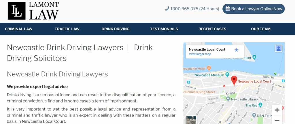 Lamont Lawyers Newcastle