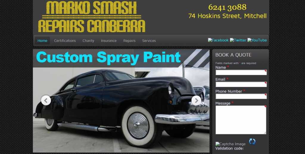 Best Auto Body Shops in Canberra