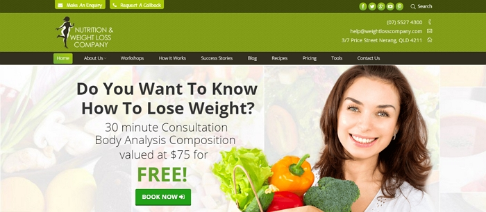 Nutrition & Weight Loss Company