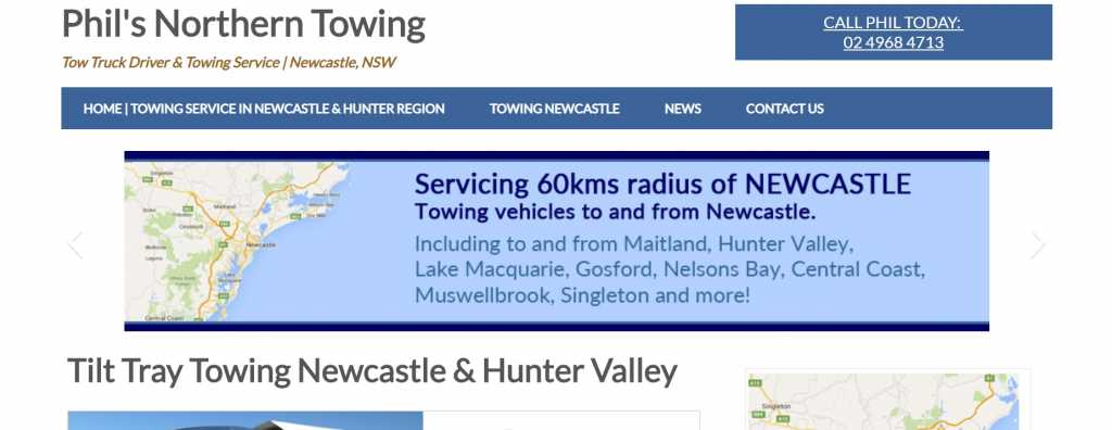 Phil's Northern Towing Newcastle