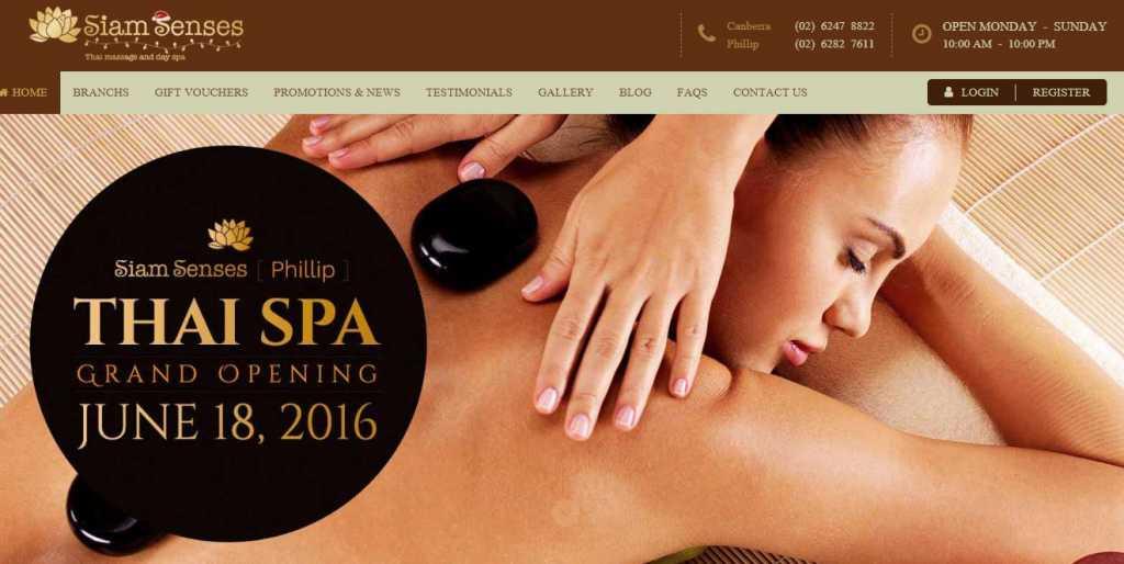Canberra oasis massage relaxation massage