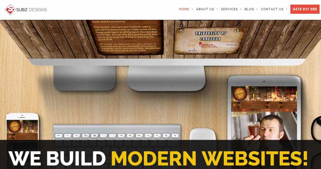 Best Website Designers in Canberra