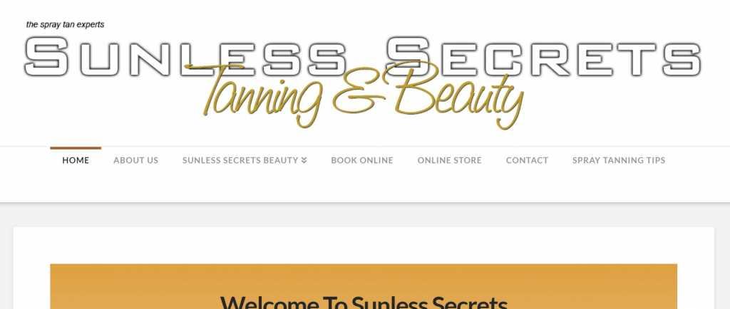 Sunless Secrets Tanning Studio East Maitland