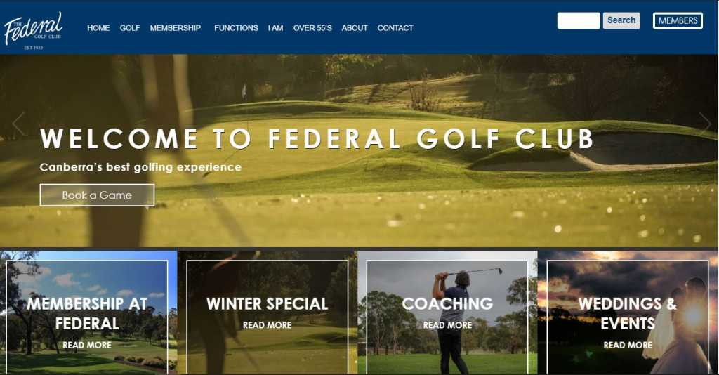 Best Golf Courses in Canberra