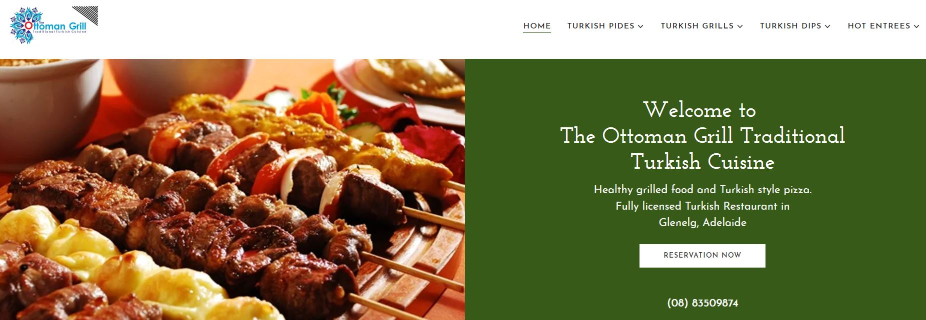 The Ottoman Grill Traditional Turkish Cuisine