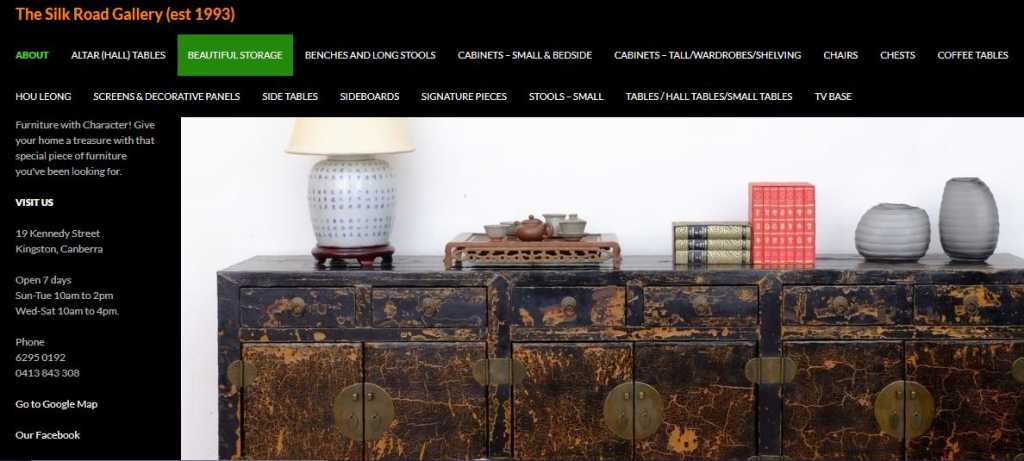 Best Antiques Stores in Canberra
