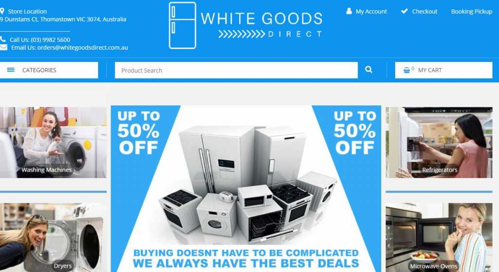 Best White Goods in Melbourne