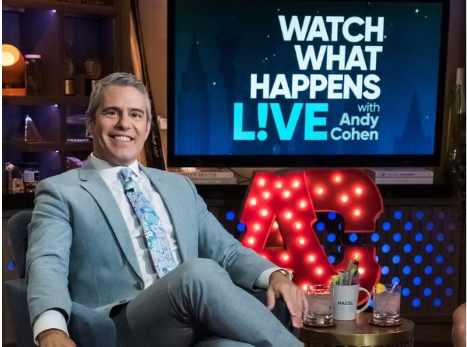 Andy Cohen blacklisted a number of celebs from guesting on'Watch What Happens Live'