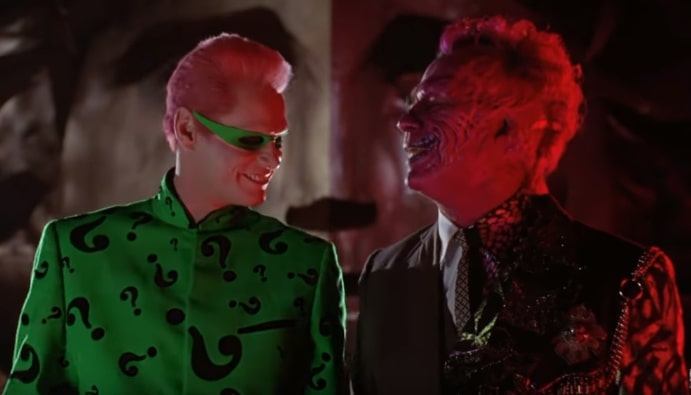 "Why Tommy Lee Jones ""was not kind"" to Jim Carrey while filming Batman Forever"