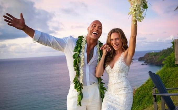 Dwayne Johnson finally marries long-time love Lauren Hashian