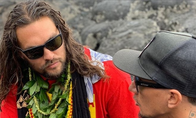 "Jason Momoa can't shoot Aquaman sequel after getting ""run over by a bulldozer"""