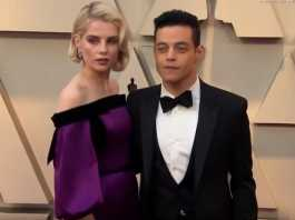 Rami Malek offers a rare glimpse into his relationship with Lucy Boynton
