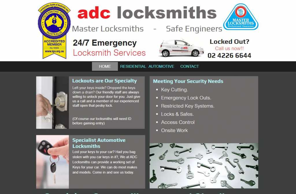 Best Locksmiths in Wollongong