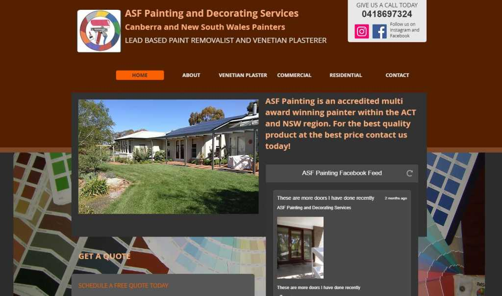 Best Painting Services in Canberra