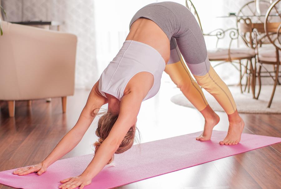 Adho mukha svanasana yoga