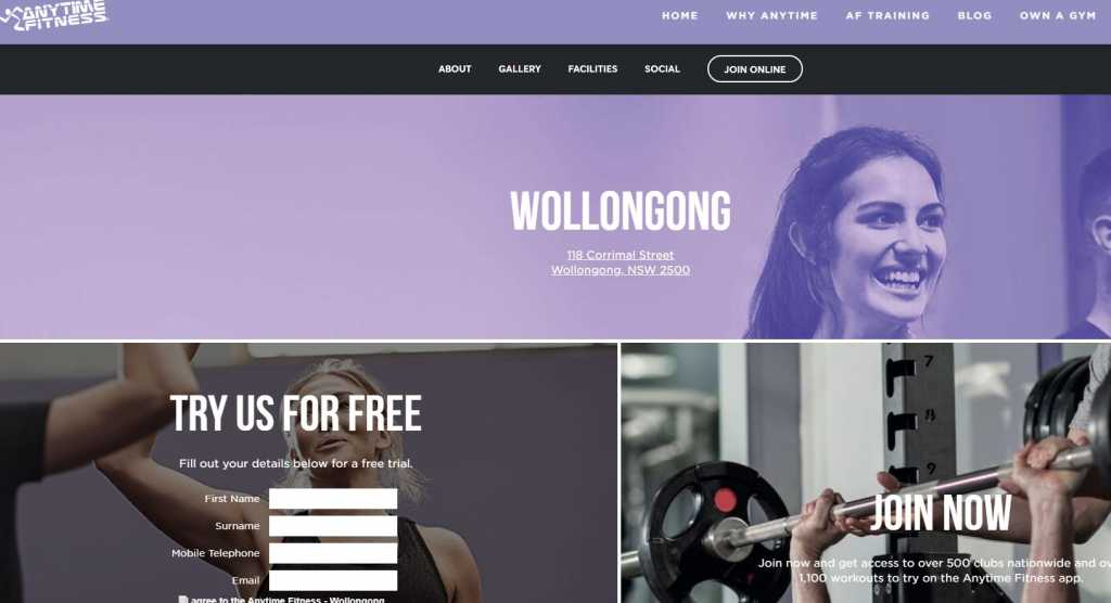Best Gyms in Wollongong