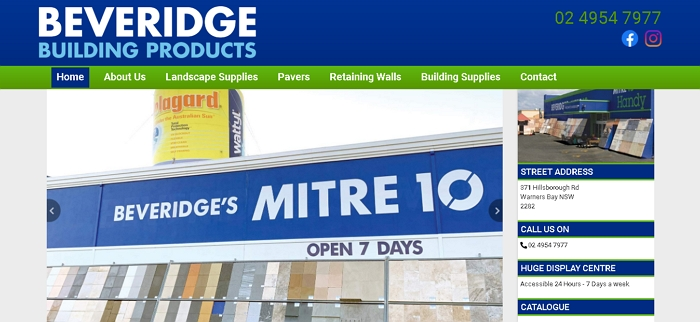 Beveridge's Mitre 10