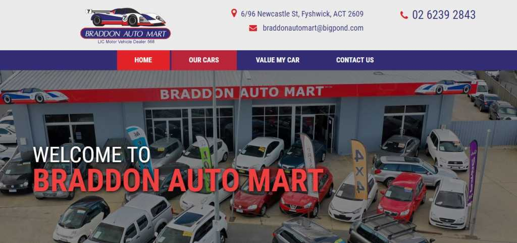 Best Used Car Dealers in Canberra