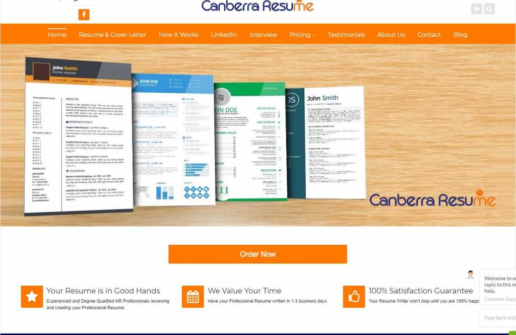 Best Resume Services in Canberra