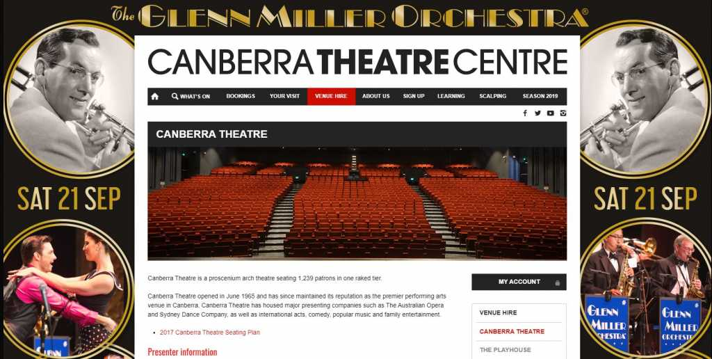 Best Performing Arts Theatres in Canberra