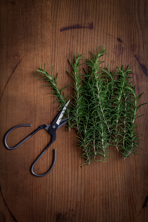 Chop fresh herbs with ease