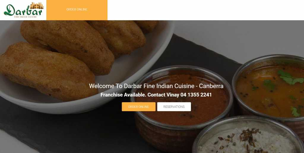 Best Delivery Restaurants in Canberra