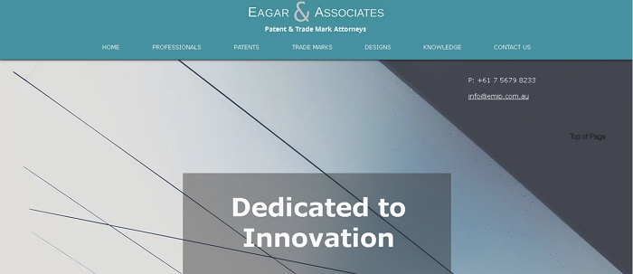 Eagar & Associates Patent and Trade Mark Attorneys
