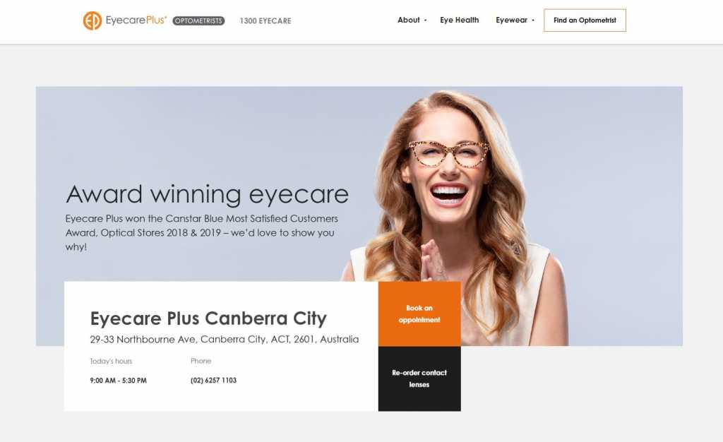 Best Optometrists in Canberra