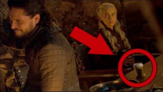 "Game of Thrones creators call Starbucks cup mistake ""an embarrassment"""