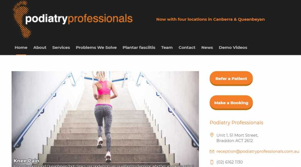 Best Podiatrists in Canberra