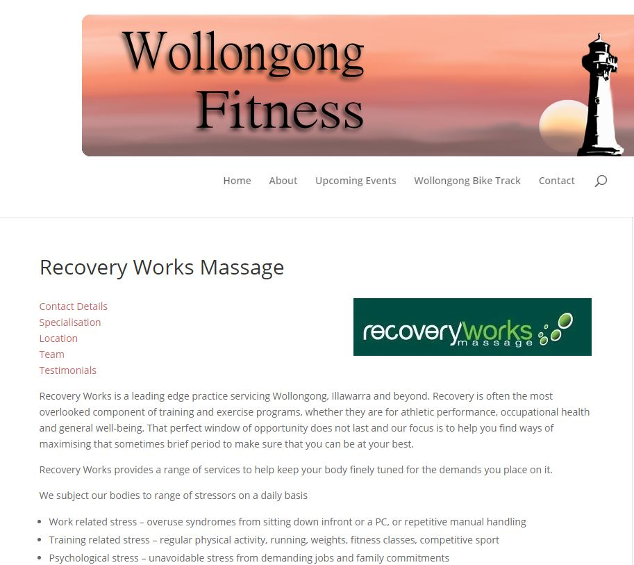 Best Sports Massage Places in Wollongong