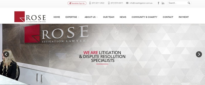 Rose Litigation Lawyers