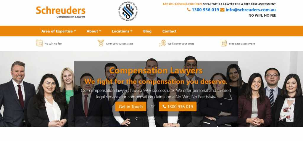 Best Compensation Lawyers in Canberra
