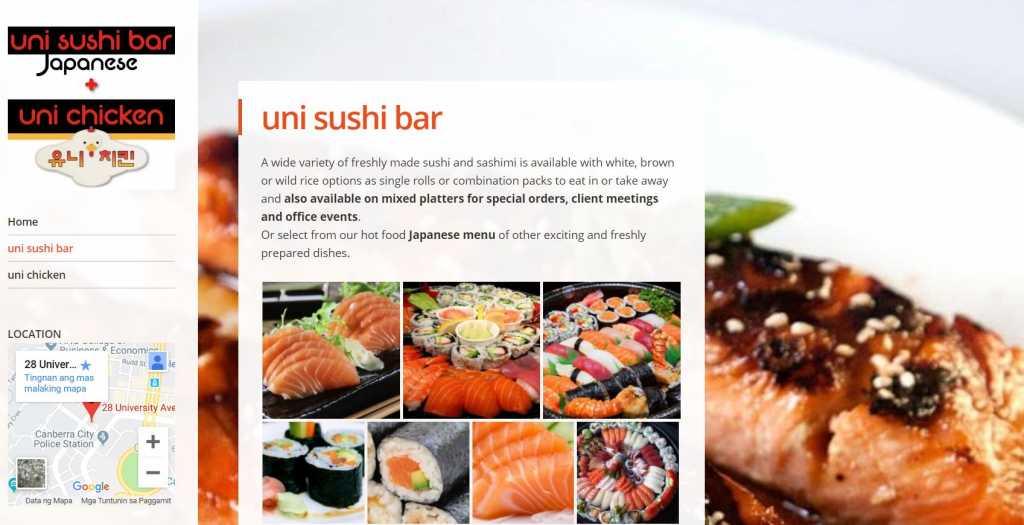 Best Sushi Restaurants in Canberra
