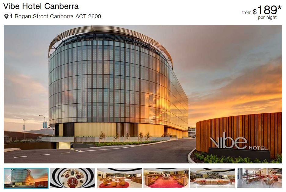 Best Hotels in Canberra