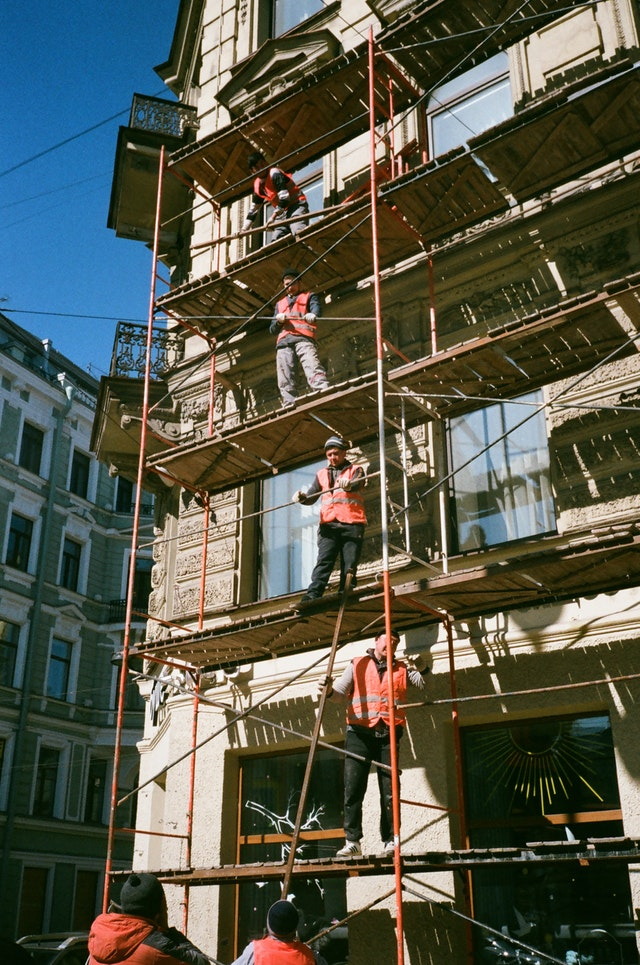 hire aluminium scaffolding
