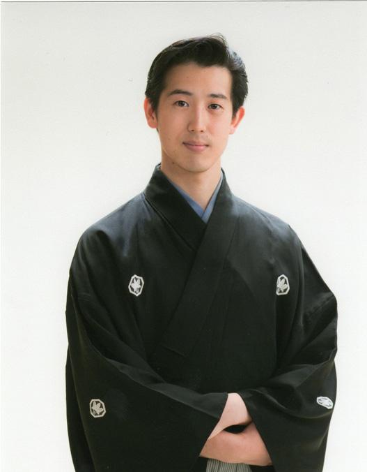 Yoshiteru Ueda, the 2nd generation mastersoon to be heir of Japanese Nohgaku the Ueda family