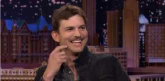 "Ashton Kutcher says Adele is the reason behind his ""spite 'stache"""