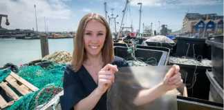Plastic alternative made from fish waste wins Dyson Award