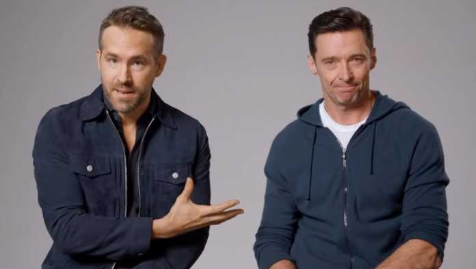 Ryan Reynolds posts an endearing message to Hugh Jackman
