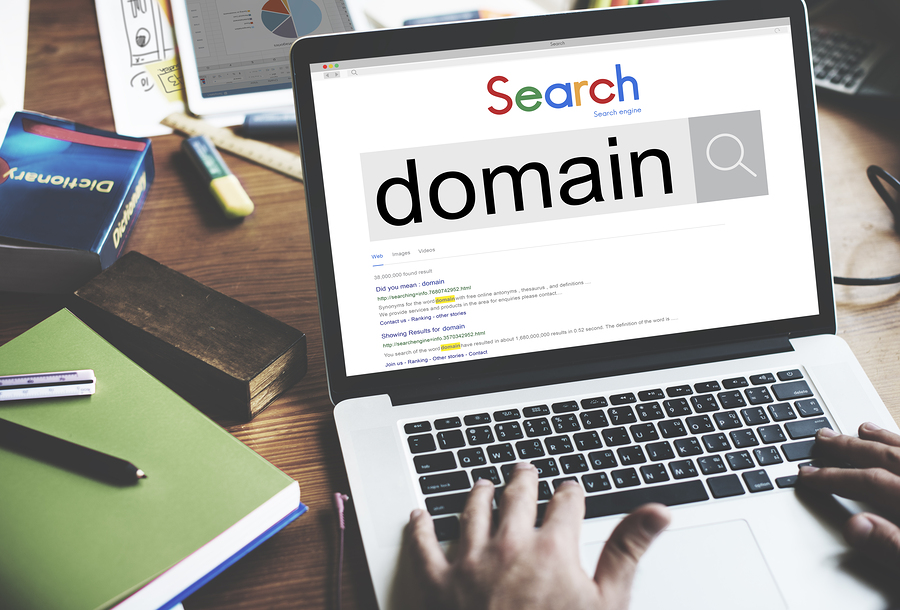 Choose the domain name