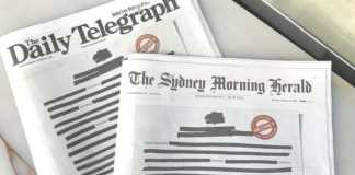 Australia: newspapers black out headlines amid media restrictions