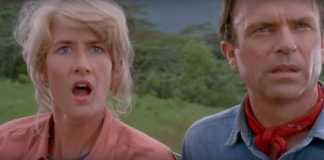 Sam Neill Jeff Goldblum Laura Dern Jurassic World Jurassic Park