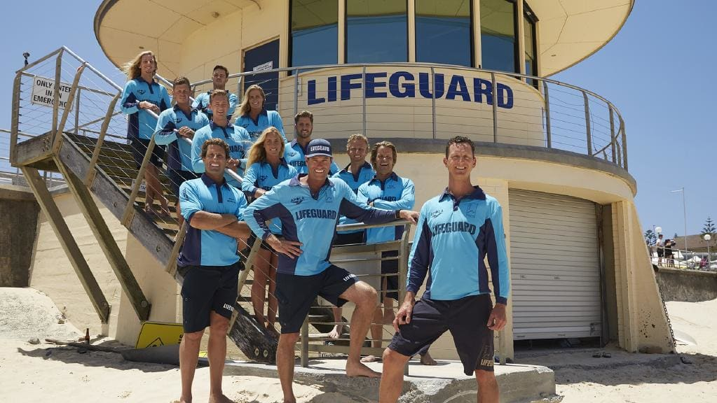 Bondi Rescue team