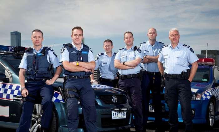 Highway Patrol crew