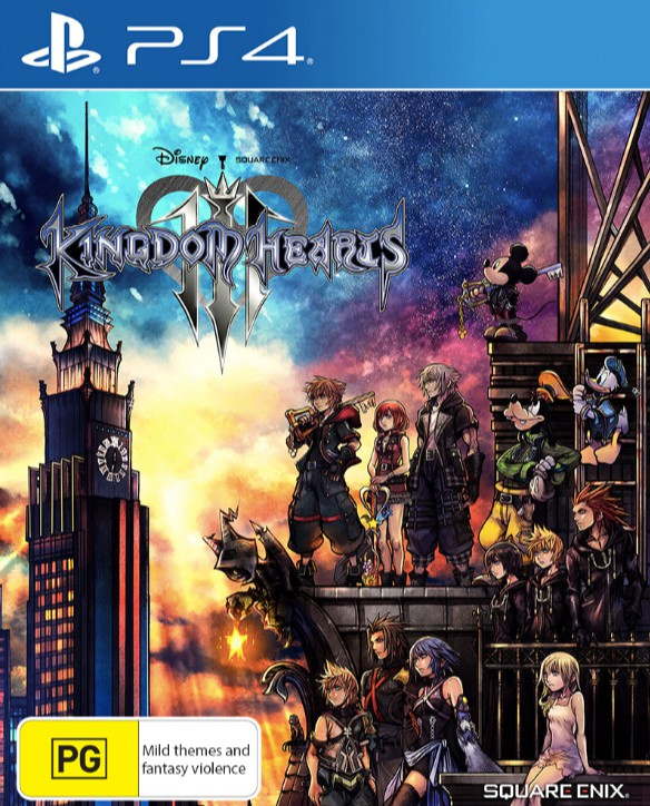 Kingdom Hearts III - EB Games