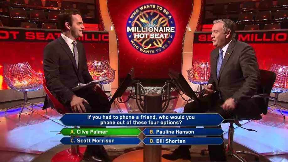 Millionaire Hot Seat trivia