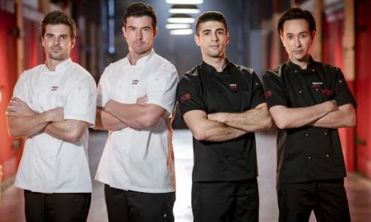 My Kitchen Rules chefs