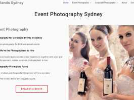 Orlando Sydney Event Photography Review